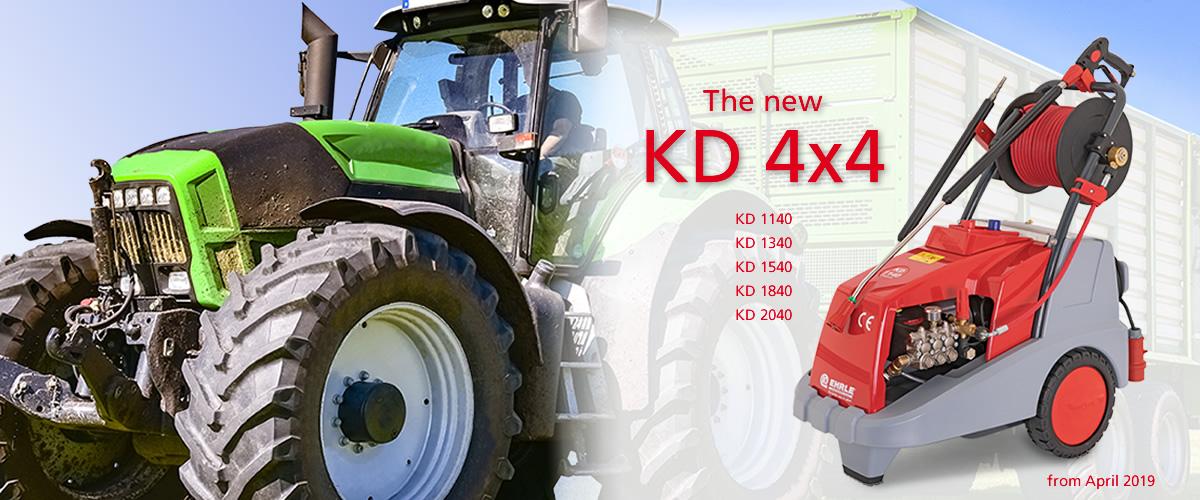 New KD 4x4 Series