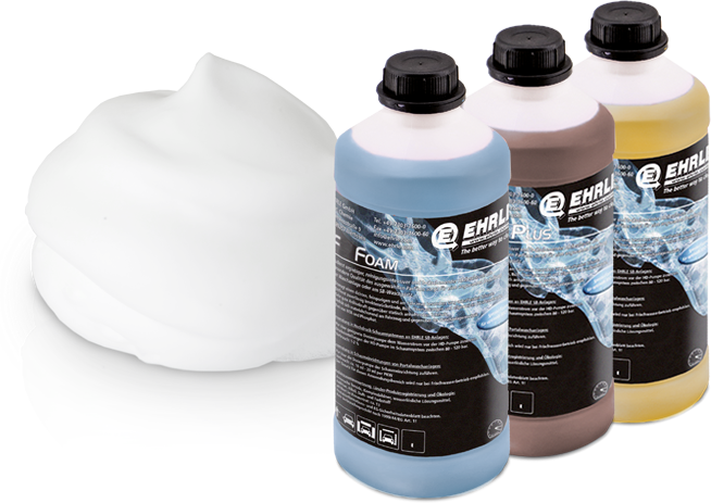 Foam  Waschanlagen Chemie