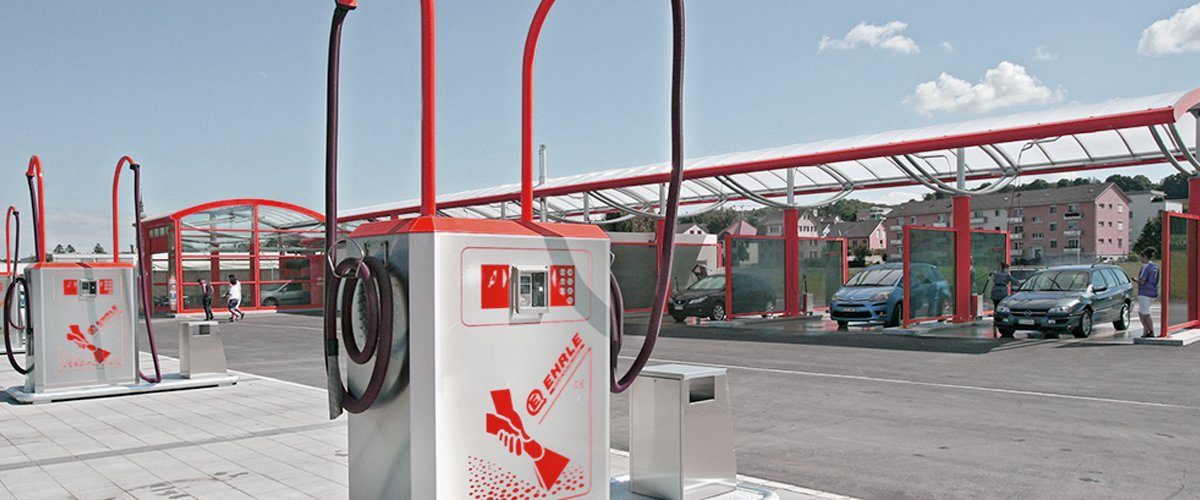 Self-Service CarWash | EHRLE - The better way to clean