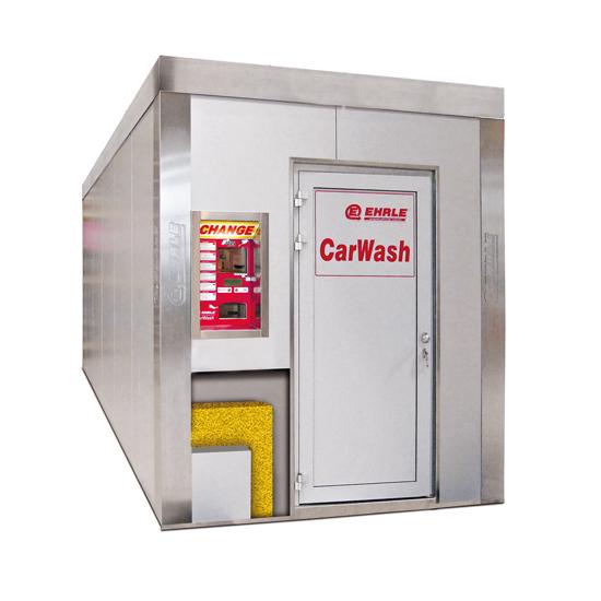 EHRLE CarWash Technik Container mit Wärmedämmung