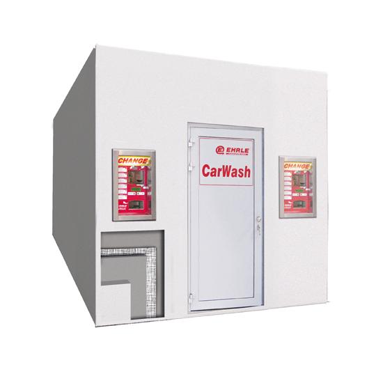 EHRLE Beton Fertigteil Technik Container