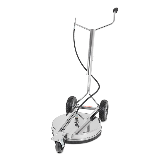 Area Cleaner stainless steel Ø 520 mm - 3-wheeled
